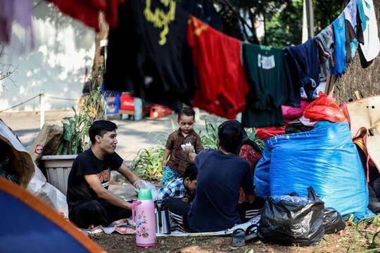 Indonesia Perang !! Lihatlah Pengungsi Afghanistan