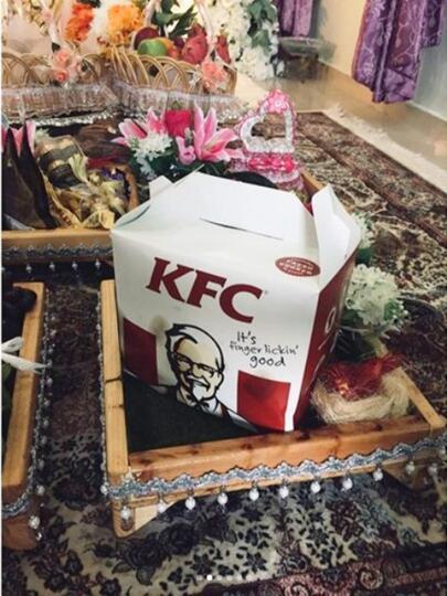Wanita Cantik Ini Meminta Ayam KFC Dijadikan Sebagai Mahar Pernikahan