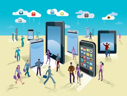 Sadarkah Kita. Manusia Dimasa Mendatang, Hidup Bergantung dengan Internet