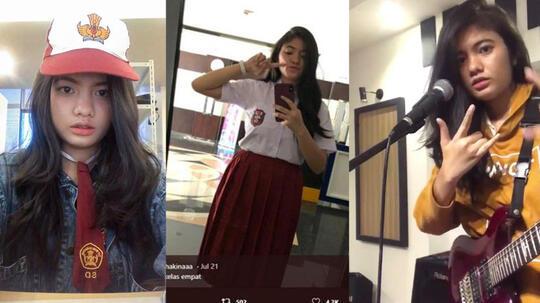 Pakai Seragam SD, Foto Gadis Cantik Ini Viral Dan Diserbu Netizen Cowok Gan