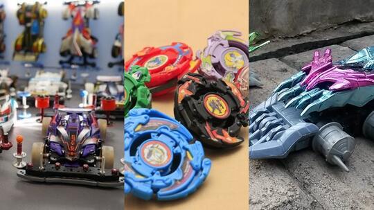 Nostalgia Mainan yang Ngetrend dari Serial Kartun di Televisi. Agan punya yang mana?