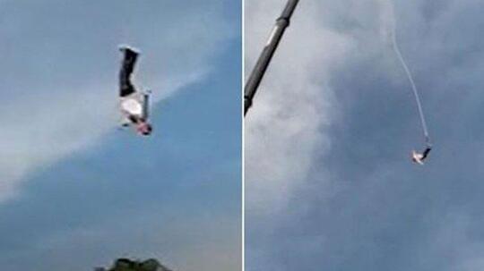 Aksi Bungee Jumping Gagal, Pria Ini Jatuh Dari Ketinggian 100 Meter Dan Patah Tulang