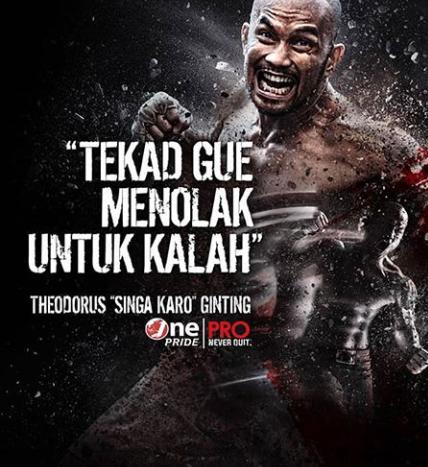 Inilah Theo Singa Karo Dari Kandang Octagon MMA