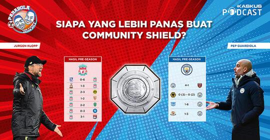 Siapa Paling Panas Buat Community Shield?