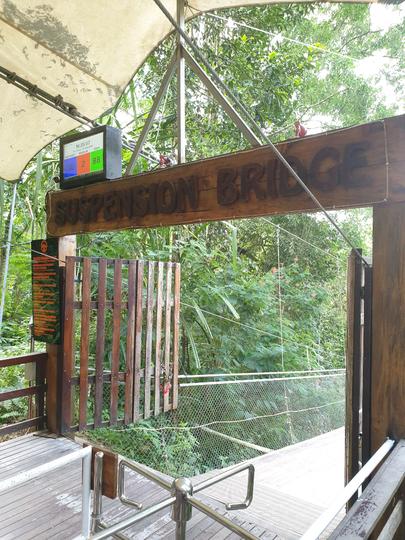 Jembatan Gantung Terpanjang di Asia adanya di Indonesia Loh
