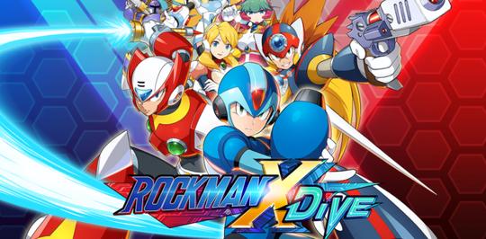 Rockman X Dive Masuki Global Closed Beta Test