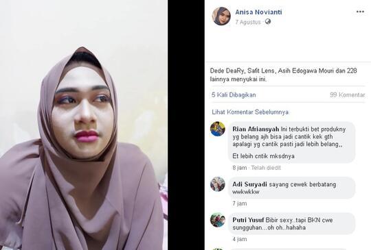 Bikin Salfok Netizen! Wanita Ini Merubah Suaminya Menjadi Model Cantik Bak Bidadari