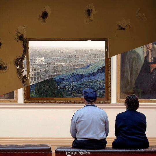 Karya Seniman Ini Bikin Sadar Kalau Hidup Kita tuh Nggak yang Paling Berat di Dunia!