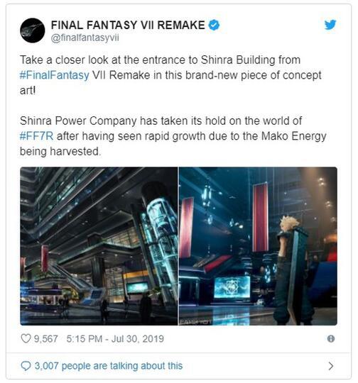 Final Fantasy VII Remake Tampil Kembali di Gamescom