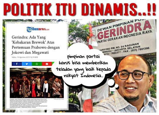 Prabowo bertemu Jokowi dan Megawati, Sejumlah Pihak Kebakaran Jenggot?