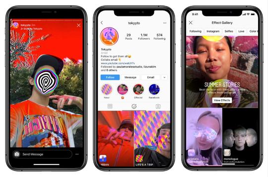 Sekarang di Instagram Bisa Buat Filter Sendiri, Cobain Yuk!