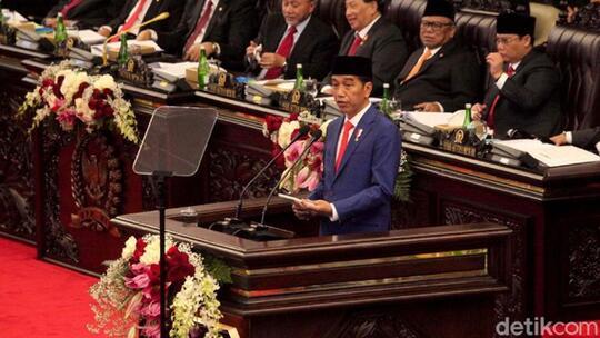 Jokowi: Saya Minta Izin Pindahkan Ibu Kota ke Kalimantan 🙌🙌