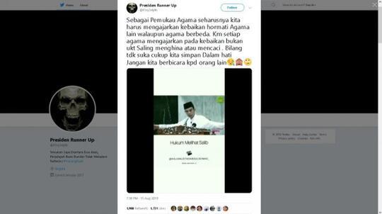 Ceramah Salib UAS Viral, Politikus Nasdem: Negara Harus Cepat Bertindak