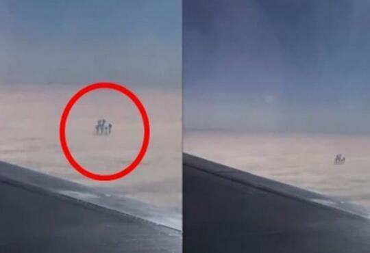 Kejadian Aneh Dalam Pesawat, Ada Monyet Manjat Dan Baju Dalam Tergantung! Kok Bisa?