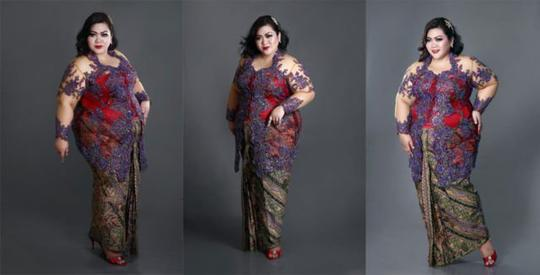 Solusi Ber-KEBAYA Modern Nan Cantik Untuk Wanita Plus-Size