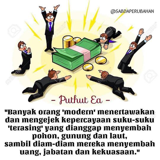 Tuhan Atau Uang Yang Berkuasa