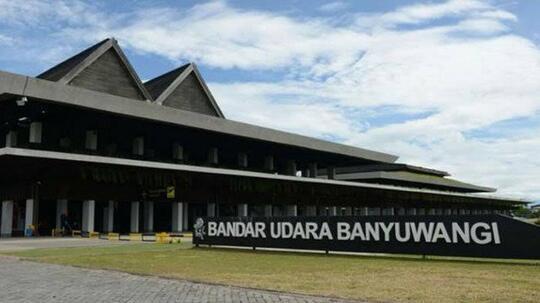 Bandara Banyuwangi Uapikk Tenan