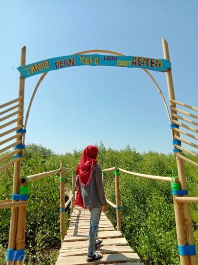 Pesona Pantai Mina Mangrove : Wisata Baru Di Tunggulsari, Tayu, Pati, Jawa Tengah
