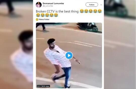 """Video Penampakan """"ANEH"""" Dari CCTV Rusak Ini Justru Bikin NGAKAK Netizen !"""