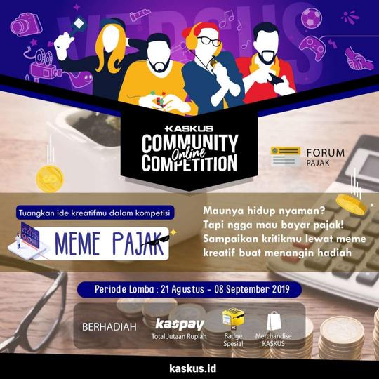 Kumpulan Meme Sub Forum Pajak 2019