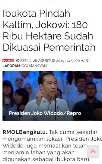 Ibukota Boleh Pindah Ke Kalimantan, Asal Bapakkota Jangan Pindah Ke Hatimantan.