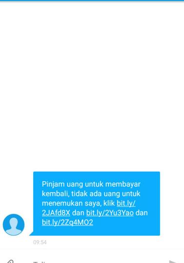 Korban Pinjaman Online yang Sedang Berusaha Lepas dari Jeratannya.