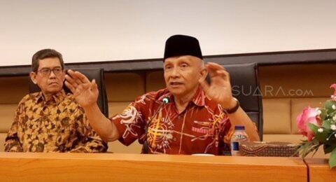 Kritik Pemerintah soal Papua, Amien Rais: Rezim Amatiran Sebentar Lagi Ajal