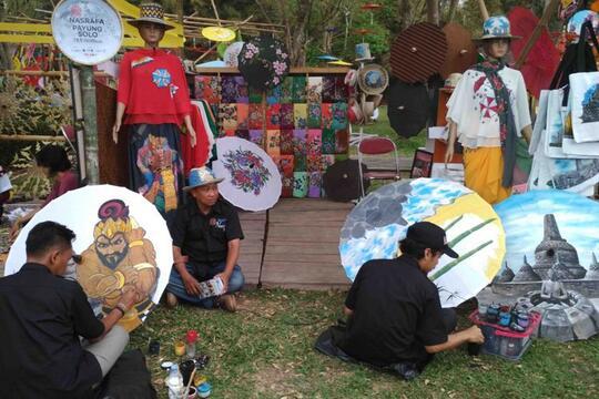 Candi Prambanan Bakal Penuh Warna di Festival Payung Indonesia 2019