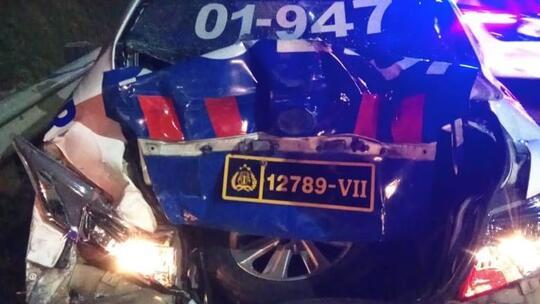 Polisi yang Tewas Ditabrak di Tol Ciledug Sedang Lakukan Penilangan