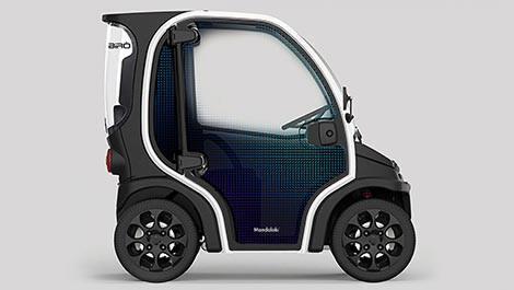 Sudah Di Jual, Mobil Listrik Ini 80% Berbahan Plastik yang Bisa Di Daur Ulang, Gan!
