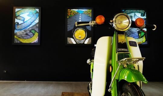 Bagian dari Sejarah Motor Antik Pak Tino Sidin Dilelang, Berminat?
