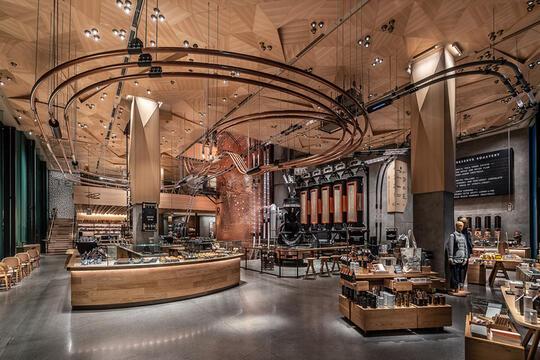 Starbucks Terbesar di Dunia Dibangun di Chicago, Gak Cuma Menyajikan Kopi!