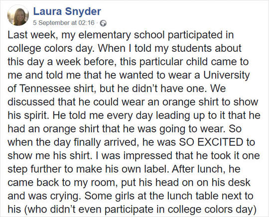 Kasian. Anak ini di Bully, karena Desain Kaos Buatannya Sendiri