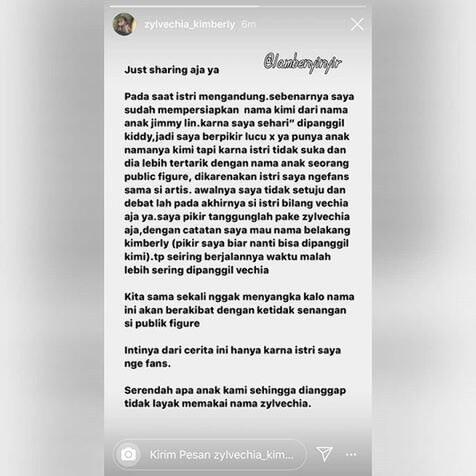 Nama Anak Ditiru Fans, Franda: Bayimu Tak Pantas Pakai Nama Itu!