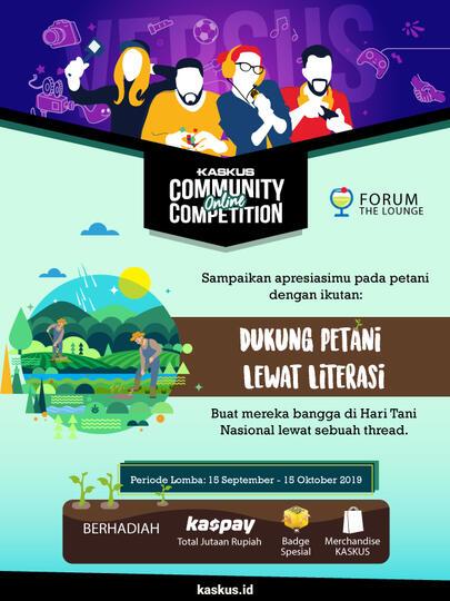 [COC ] Kompetisi Menulis Komunitas Belajar Bersama Bisa - Hari Tani