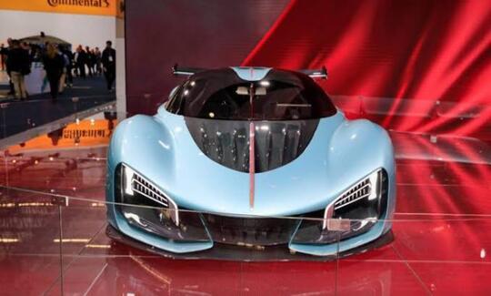 Hypercar Cina Hongqi Menjadi Pusat Perhatian Pengunjung Frankfurt Motor Show 2019