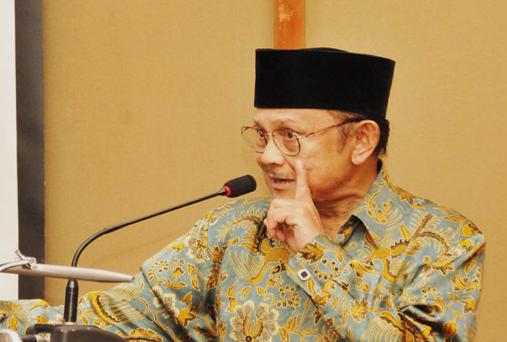 BJ Habibie, Pemimpin Berkeadilan