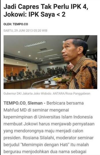 Pengamat : Jokowi dalam hati tidak setuju revisi UU KPK, tapi takut pada PDIP