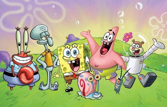 KPI Beri Sanksi Tayangan Animasi SpongeBob SquarePants