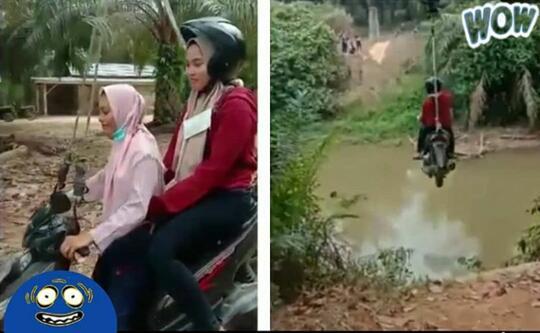 Heboh! Ada Motor Terbang Di Indonesia. Apa Karena Sudah Dibangunnya Tol Langit?