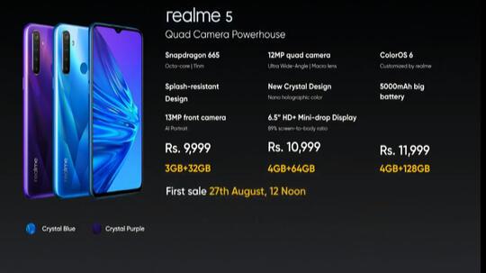 Realme 5, Lebih Murah Tapi Patut Diperhitungkan