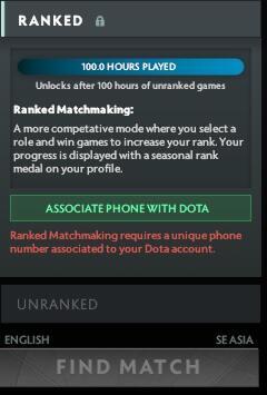 apa itu matchmaking dota 2