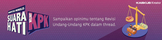 Pro dan Kontra Revisi UU KPK, Gan Sist di Pihak yang Mana? Yuk Ceritakan Opinimu!