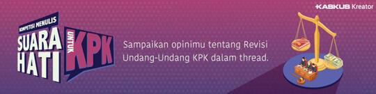 Mari Dukung Revisi UU KPK