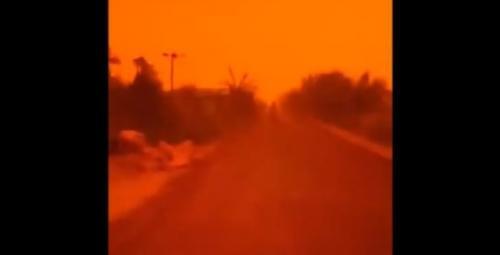 BMKG: Langit Merah di Muarojambi karena Banyaknya Titik Panas dan Asap Tebal