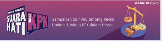 Ingin Tahu Keputusan Akhir Jokowi Atas Penolakan RUU KPK Baru? Baca Thread Ini Gan!