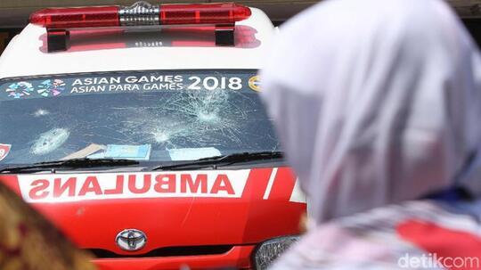 Sembunyi dan Bawa Batu di Ambulans DKI, 3 Perusuh Jadi Tersangka