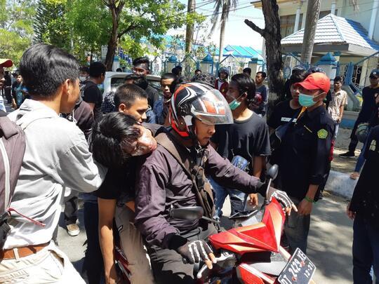 Korban Meninggal dalam Aksi Demo di Kendari Bertambah