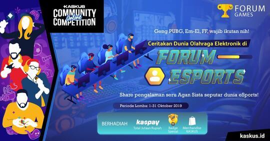 -COC-Ceritakan Dunia Olahraga Elektronik di Forum eSports