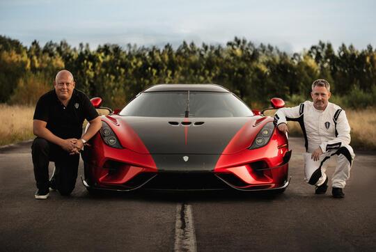 Mobil Ini Pecahkan Rekor Dunia, 0-400kmh Ditempuh Cuma Dalam Waktu 23,65 Detik